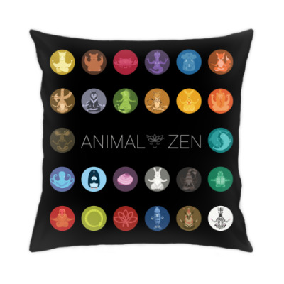 Подушка A to Z: Animal Zen