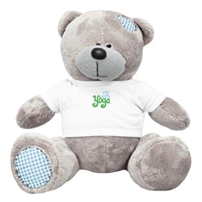 Плюшевый мишка Тедди Yoga.