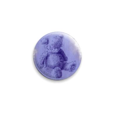 Значок 25мм  Tatty Teddy