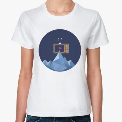 Классическая футболка Лучше один раз увидеть вживую