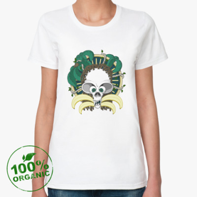 Женская футболка из органик-хлопка Dead Monkey