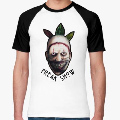 Футболка реглан Freakshow horror clown