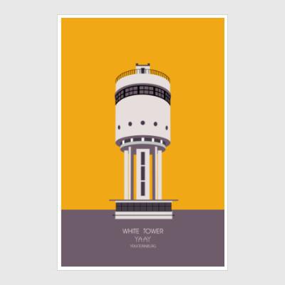Постер WHITE TOWER