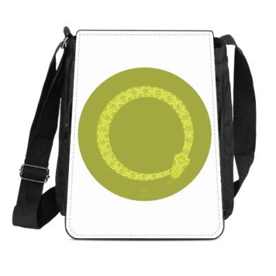 Сумка-планшет Animal Zen: V is for Viper