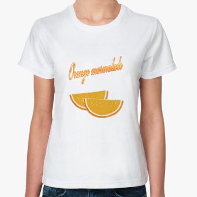 Классическая футболка Orange marmalade