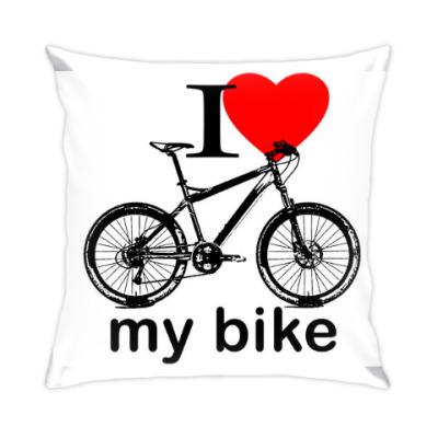 Подушка I love my bike