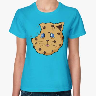 Женская футболка Печенье