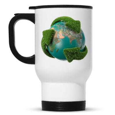 Кружка-термос Эко глобус