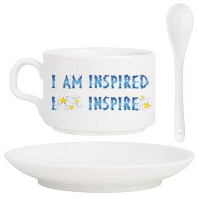 Кофейный набор I am inspired & I inspire