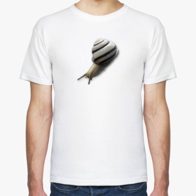 Футболка  футболка ``Улитка``