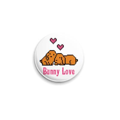 Значок 25мм Bunny Love