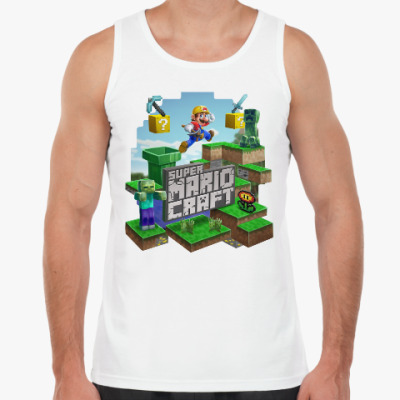 Майка Super Mario Craft