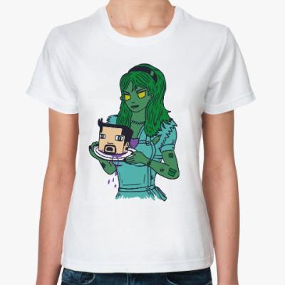 Классическая футболка Зомби Майнкрафт
