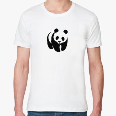 Футболка из органик-хлопка WWF. Панда