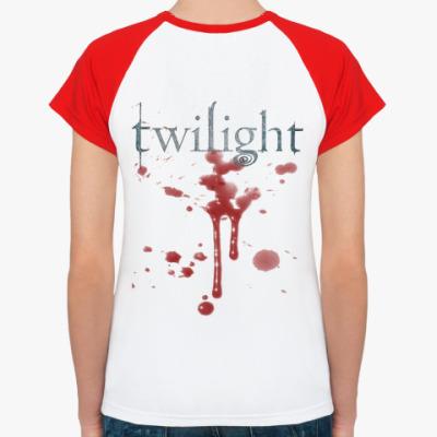Женская футболка реглан двухсторонняя