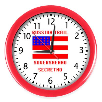Настенные часы Русский след (Russian trail)
