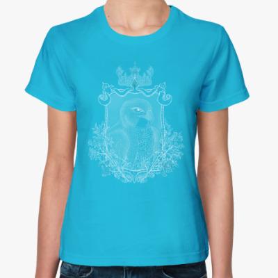 Женская футболка Сокол