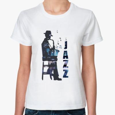 Классическая футболка  Jazz