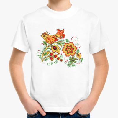 Детская футболка  'Золотой петушок'