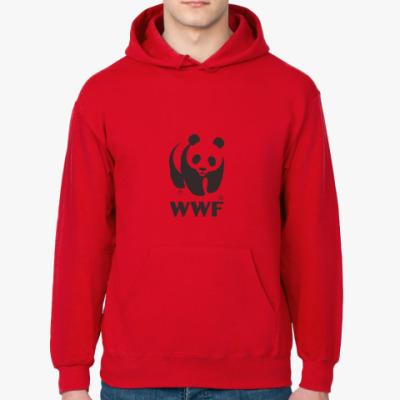 Толстовка худи WWF. Панда с лого