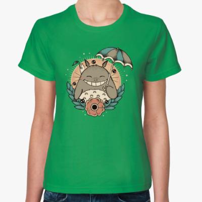 Женская футболка Smile Totoro