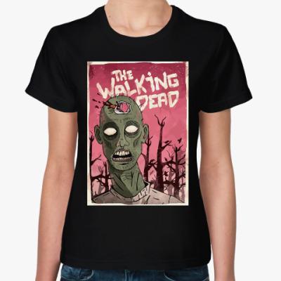 Женская футболка Ходячие Мертвецы (The Walking Dead)