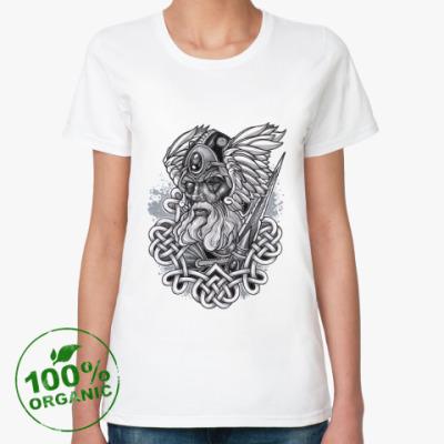 Женская футболка из органик-хлопка Odin
