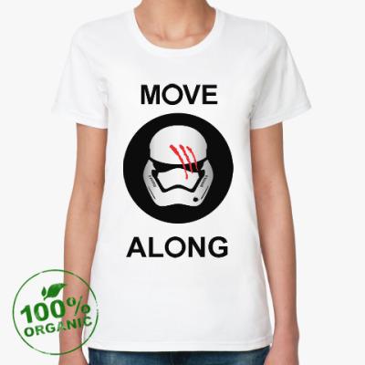 Женская футболка из органик-хлопка Финн Звёздные войны