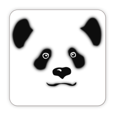 Костер (подставка под кружку) Панда