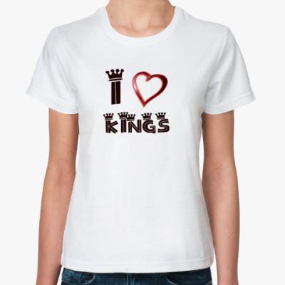 Классическая футболка Люблю