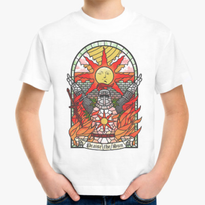 Детская футболка Dark Souls Praise the sun
