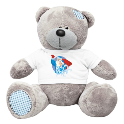 Плюшевый мишка Тедди Вестники Нового Года