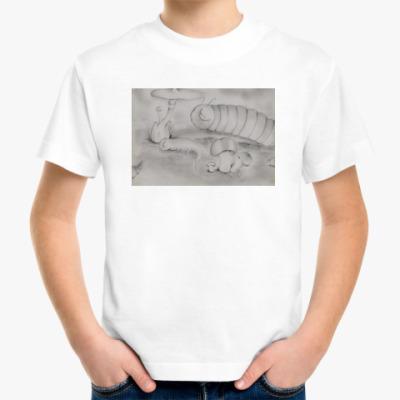 Детская футболка 'Гусеницы'