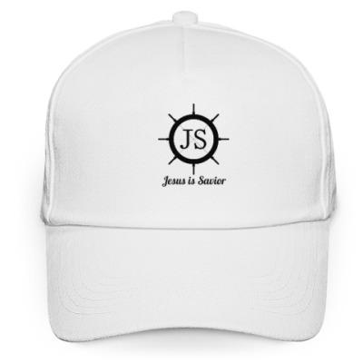 Кепка бейсболка JS (Jesus is Savior)
