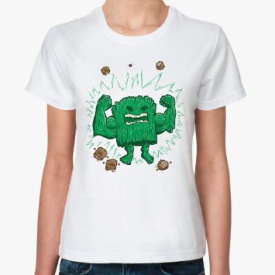 Классическая футболка Халк