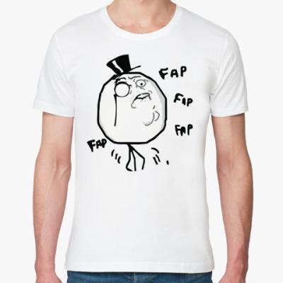Футболка из органик-хлопка Fap Fap Face