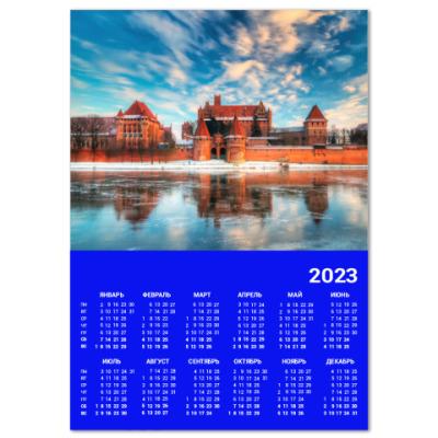 Календарь Замок Мальброк