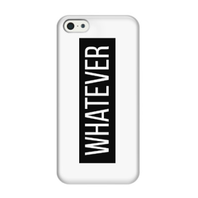 Чехол для iPhone 5/5s whatever