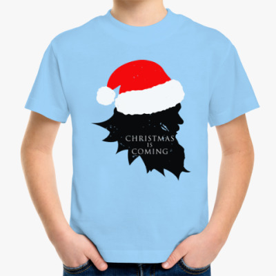 Детская футболка Christmas is coming