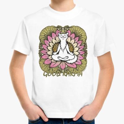 Детская футболка Хорошая карма