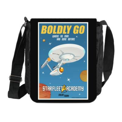 Сумка на плечо (мини-планшет) Star Trek Boldly Go