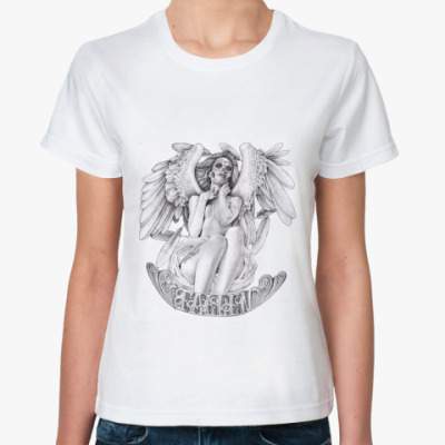 Классическая футболка Fallen Angel