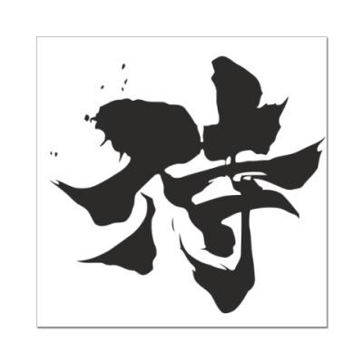 Наклейка (стикер) Samurai