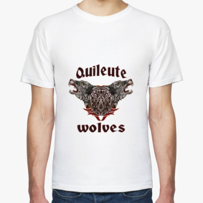 Футболка Quileute wolves