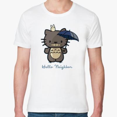Футболка из органик-хлопка Hello Totoro