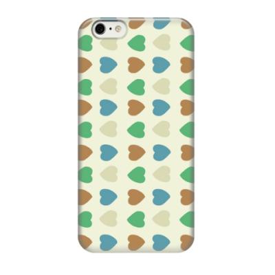Чехол для iPhone 6/6s сердца