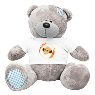 Плюшевый мишка Тедди обезьянка