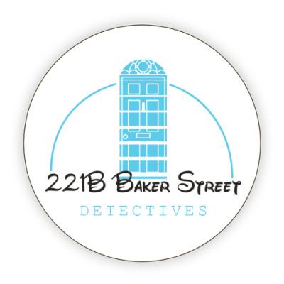 Костер (подставка под кружку) 221 Baker Street
