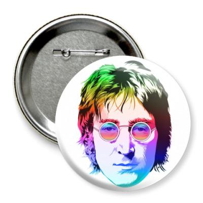 Значок 75мм John Lennon