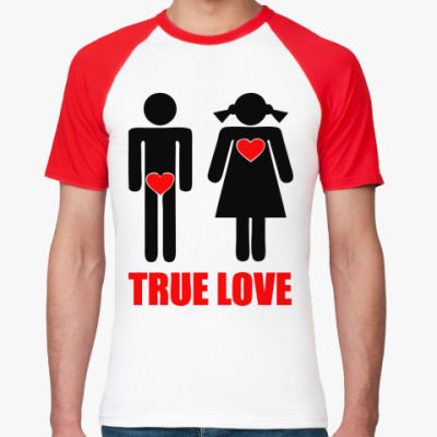 Футболка реглан True Love